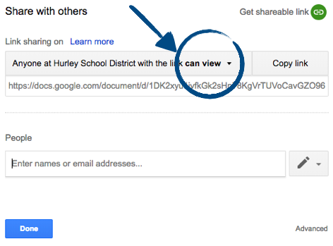how to use google drive to share documents